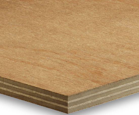Marine grade mahogany plywood